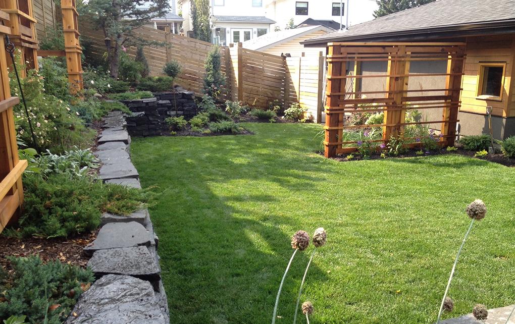 Vintage garden design calgary 39 s vintage landscape designer for Landscape design calgary